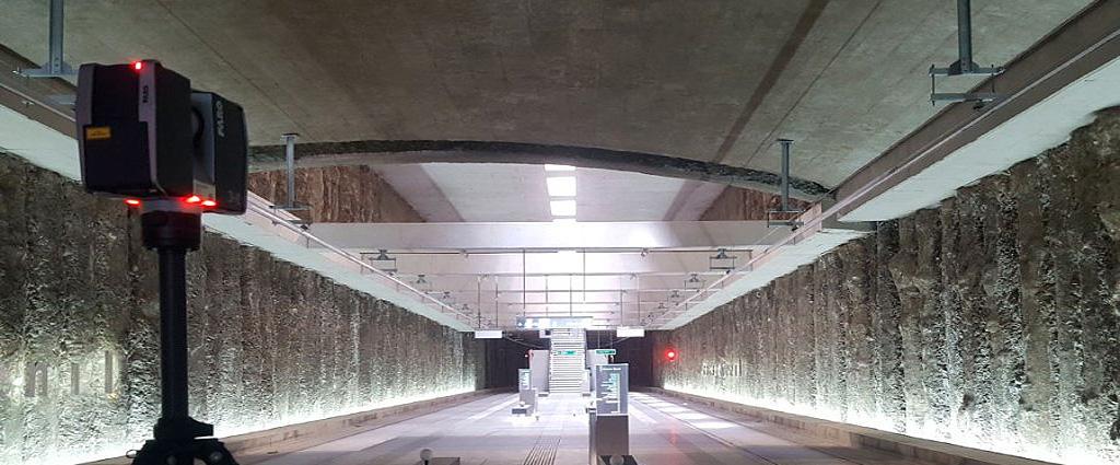 Foto escaneado estacion de metro granada