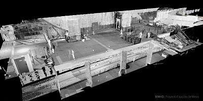 escaneado laser 3d estacion metro granada