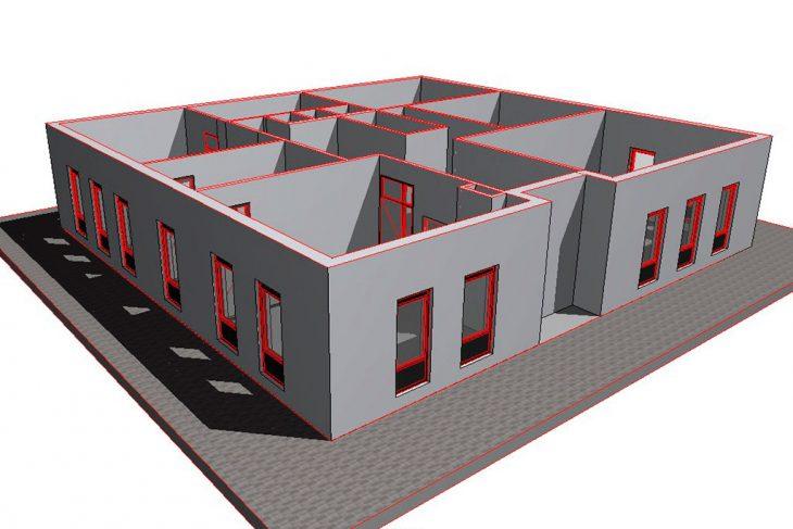 Modelo BIM realizado por BIMnD