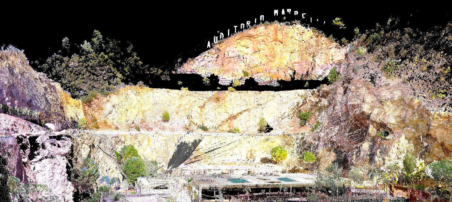 Escaneado Láser 3D - Cantera Nagüeles - Marbella