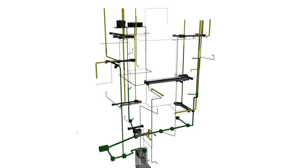 Modelo BIM de Instalaciones