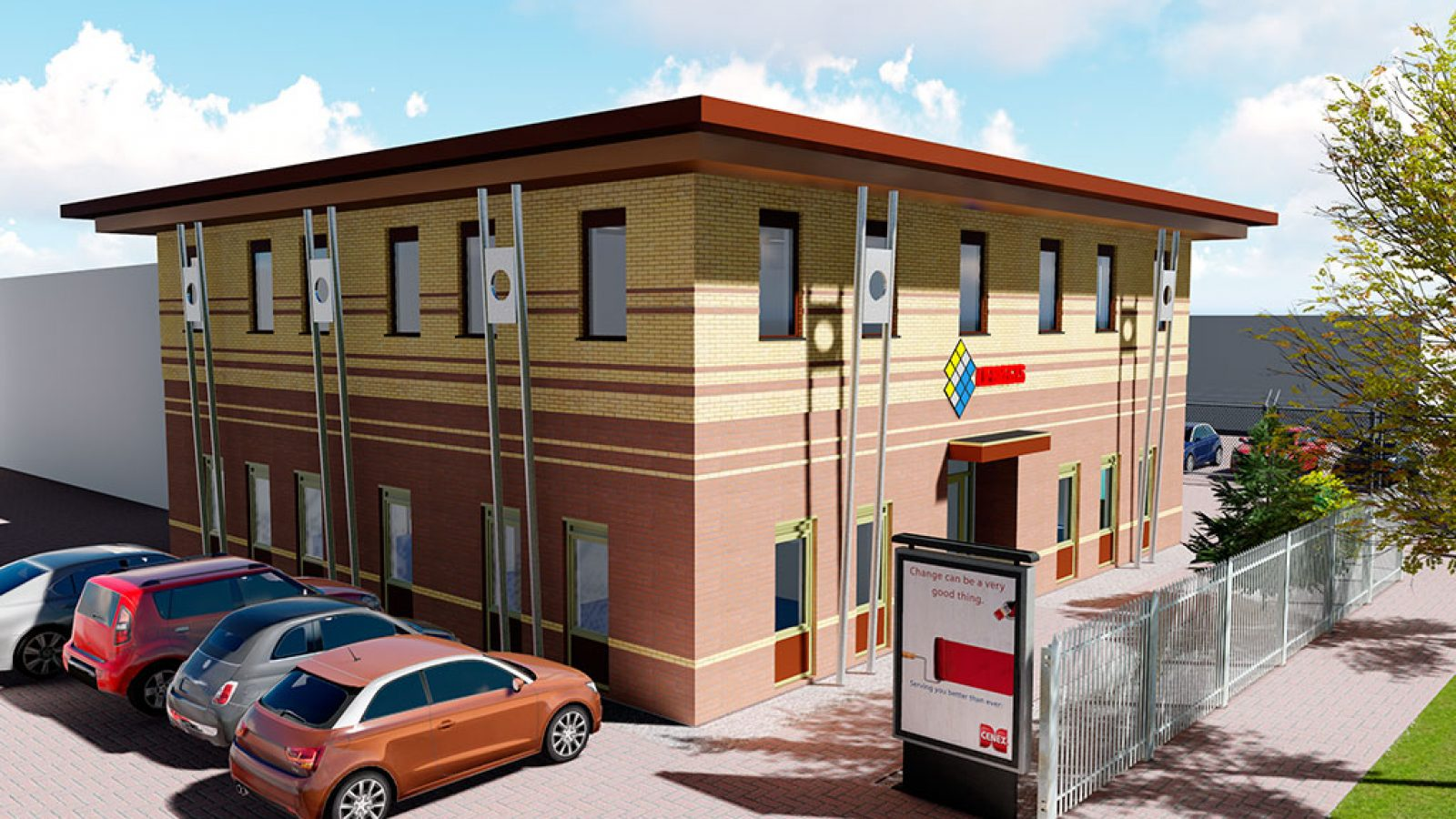 Modelado BIM Edificio oficinas. Eindhoven