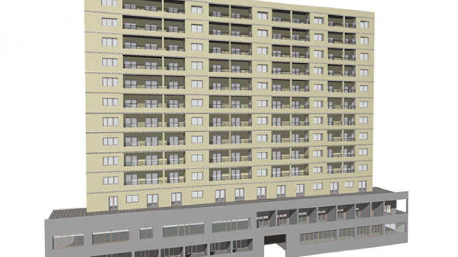 Modelo BIM hotel andalucia