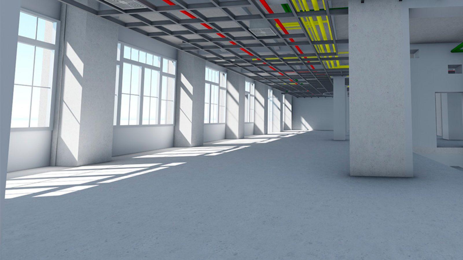modelo-bim-instalaciones-interior-local-comercial-berlin-bimnd
